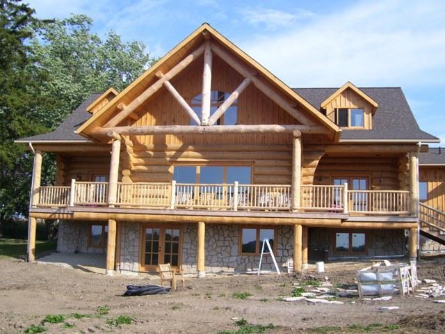 pioneer log homes. Black Bedroom Furniture Sets. Home Design Ideas